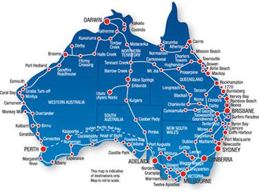 Mit dem Bus Australien erkunden   TravelWorks