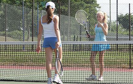 Tennis spielen in Winchester