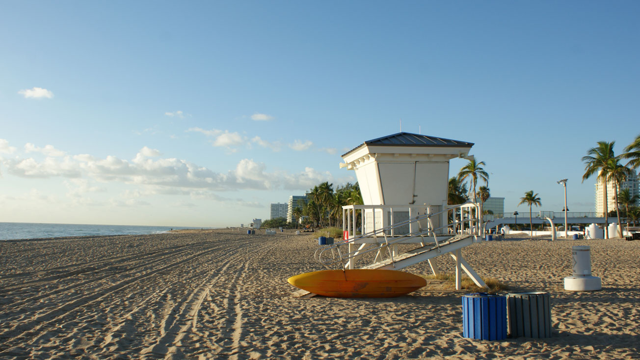 Strandausflug Schülersprachreise Fort Lauderdale