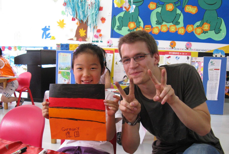 Freiwilligenarbeit China