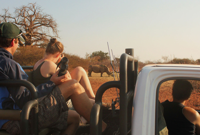 Nashornprojekt Südafrika
