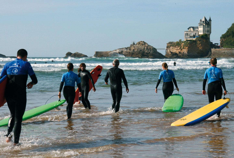 Schülersprachreisen Biarritz