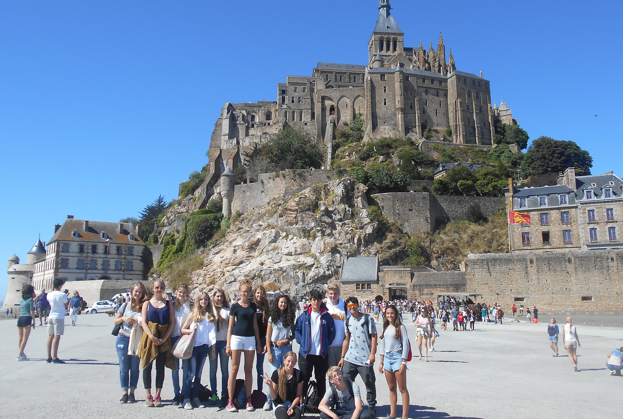 Schülersprachreisen Bretagne