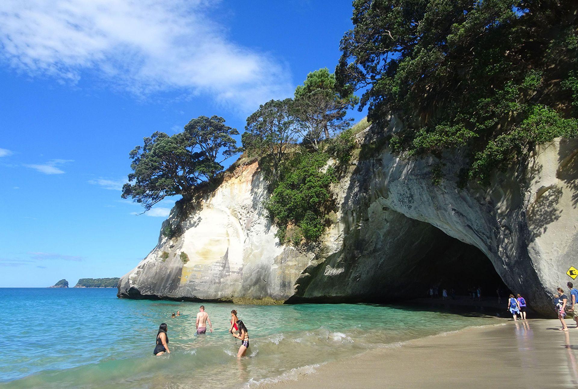 Reisen in Neuseeland