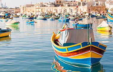 sprachreisen-Malta-hafen